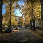 Startpunkt war dieses schöne Straße in Hohen Neuendorf