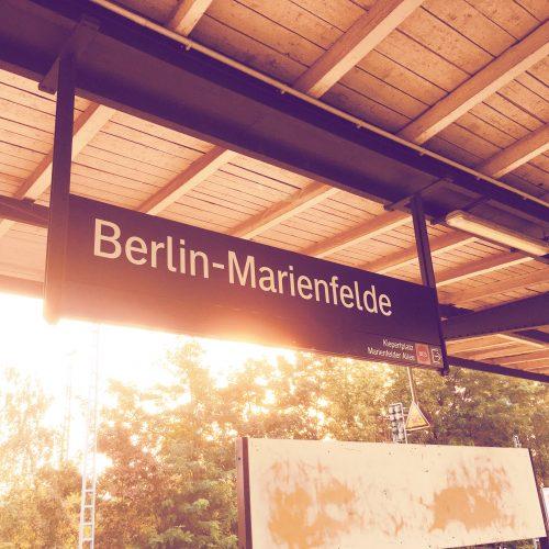 S-Bahnhof Berlin-Marienfelde