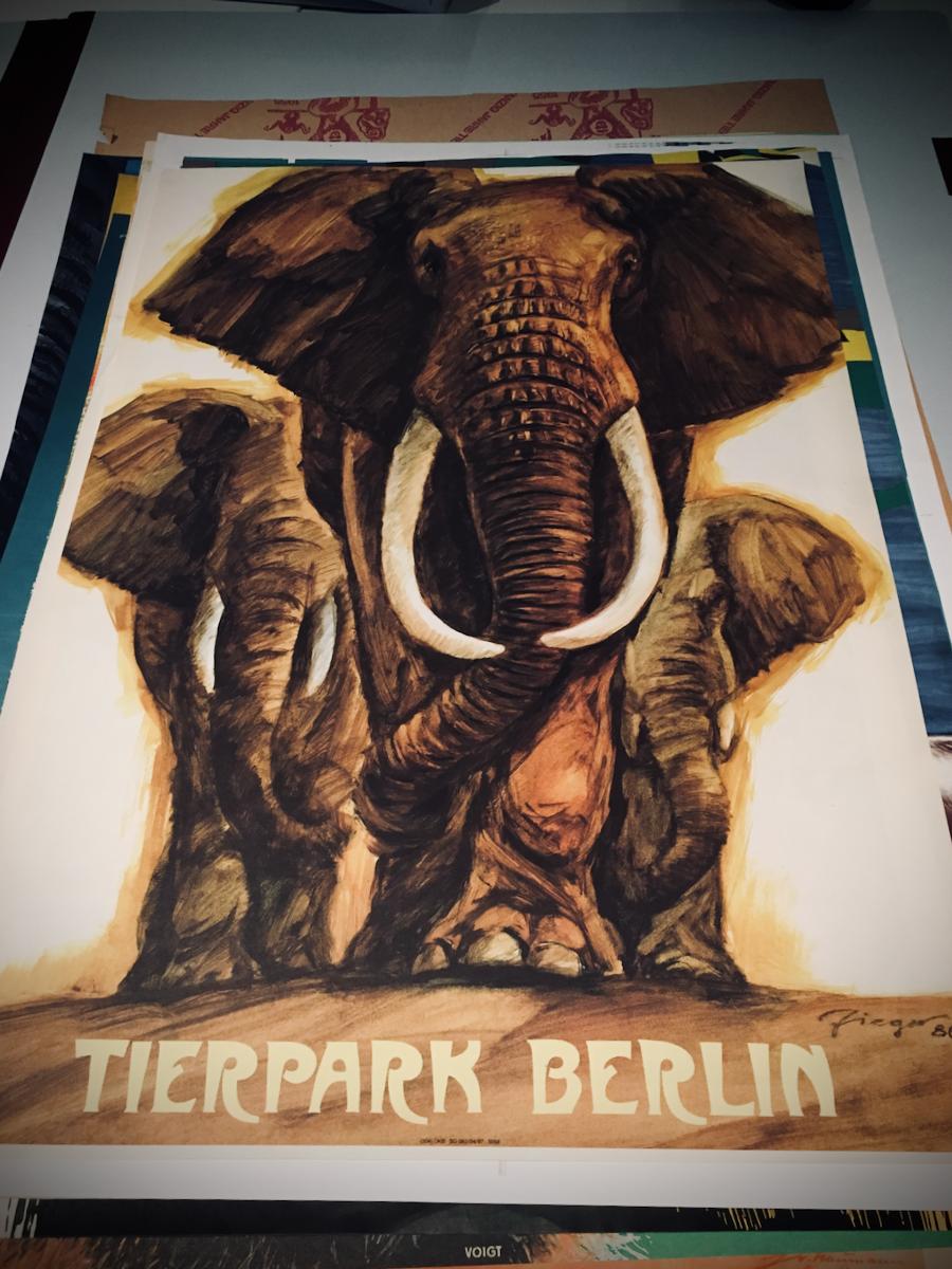Tierparkposter von Reiner Zieger (3)
