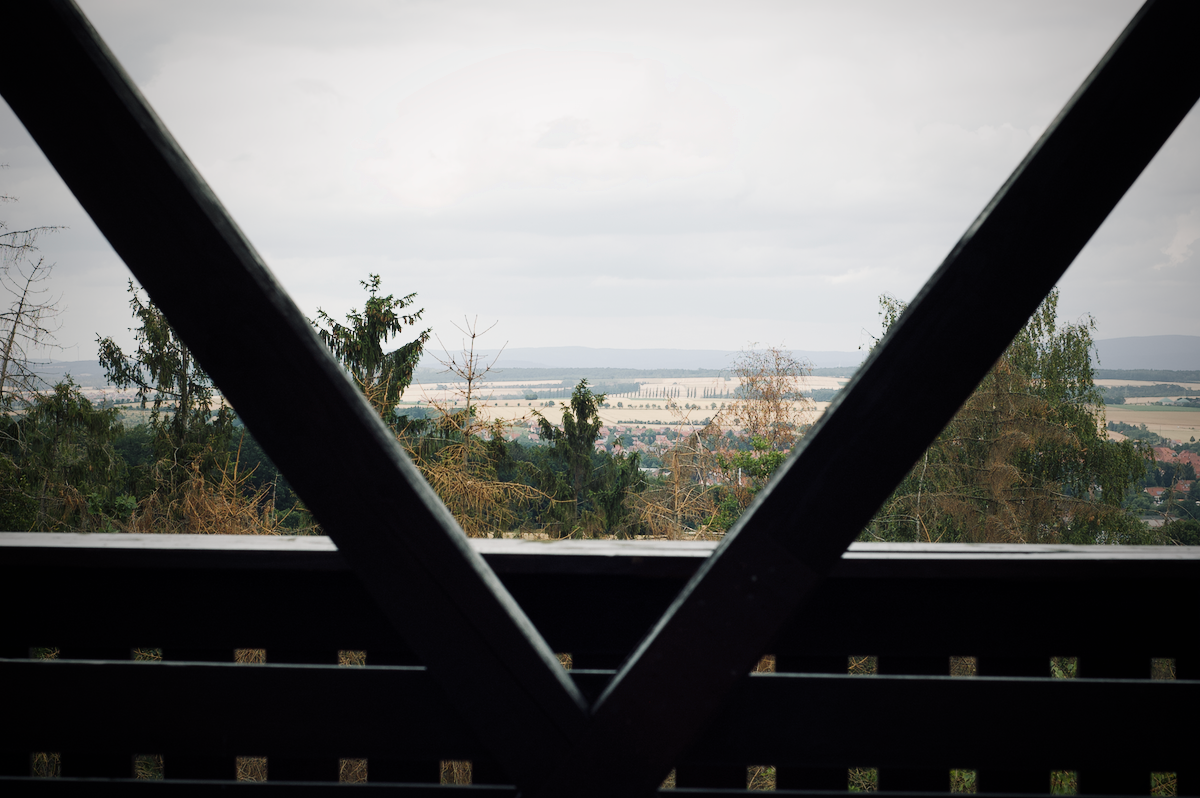 Blick ins Grenzland