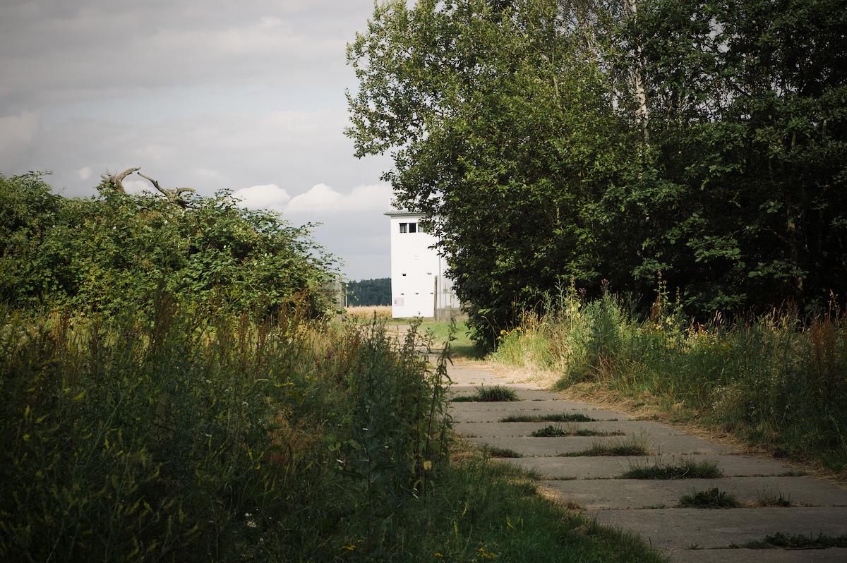 Der Weg zum Beobachtungsturm