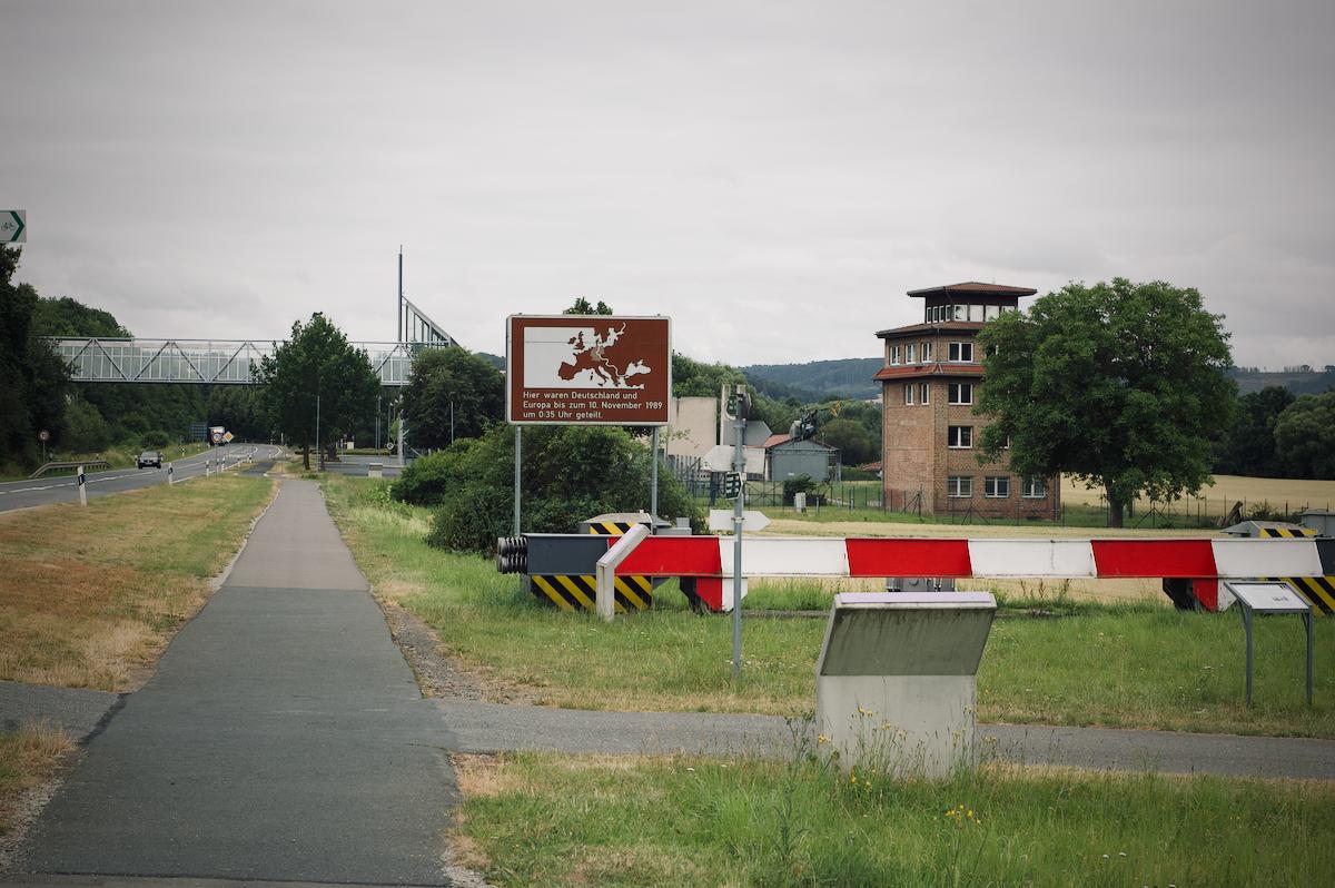 Blick aufs Grenzlandmuseum