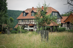 Unsere Unterkunft, der Hof Sickenberg