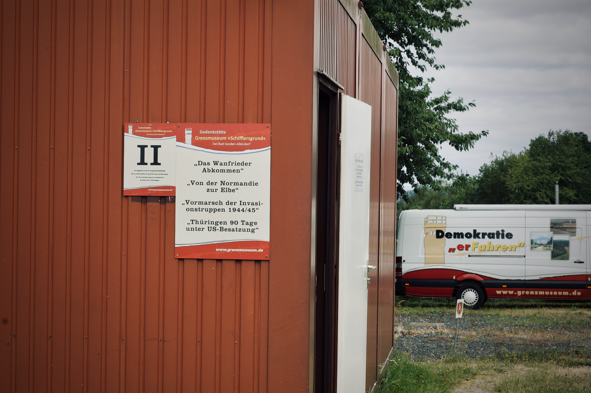 Museumscontainer und Museumsmobil