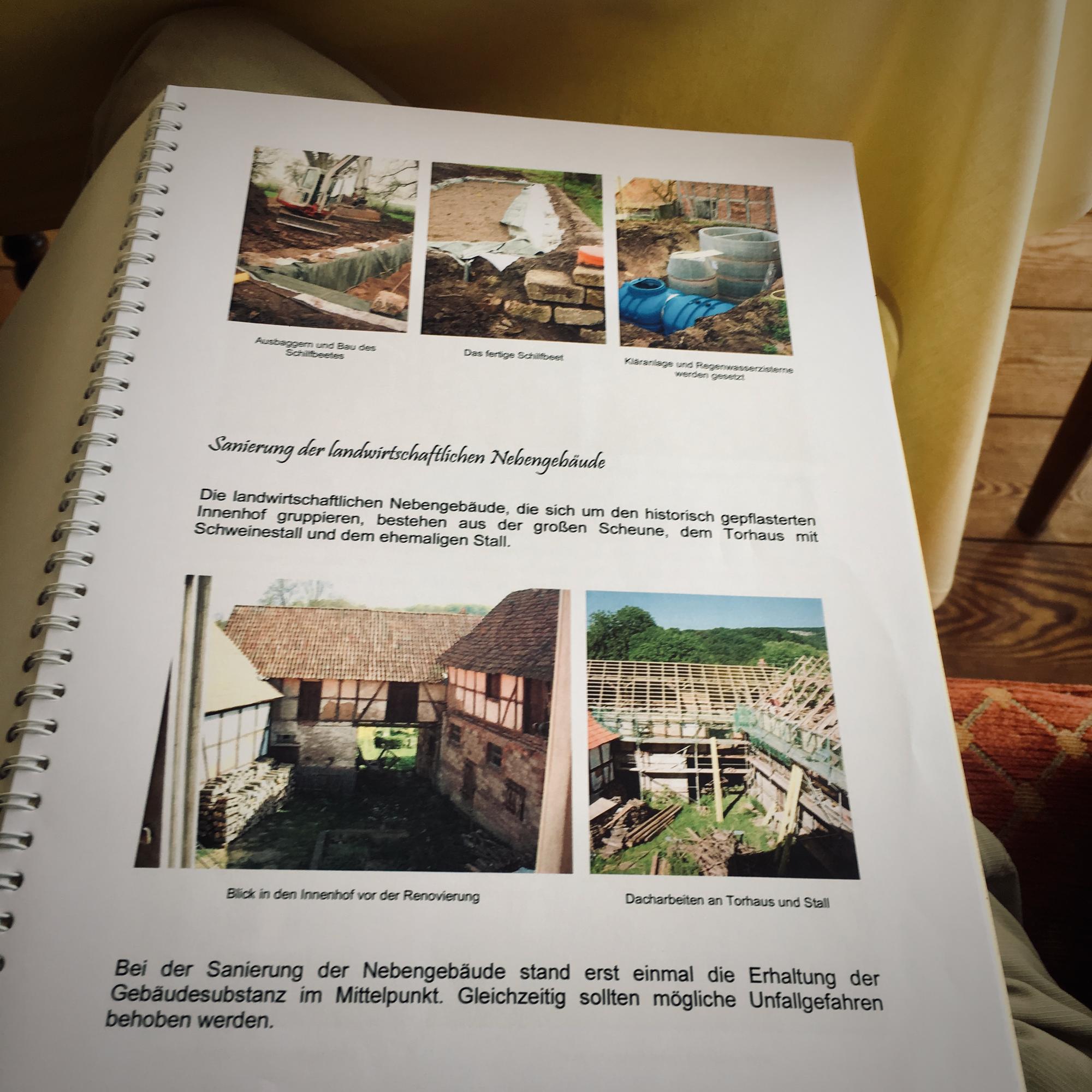 Das Umbautagebuch von Kristina Bauer