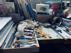 Die Werkzeuge des Künstlers