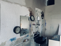 Industriecharme im Atelier